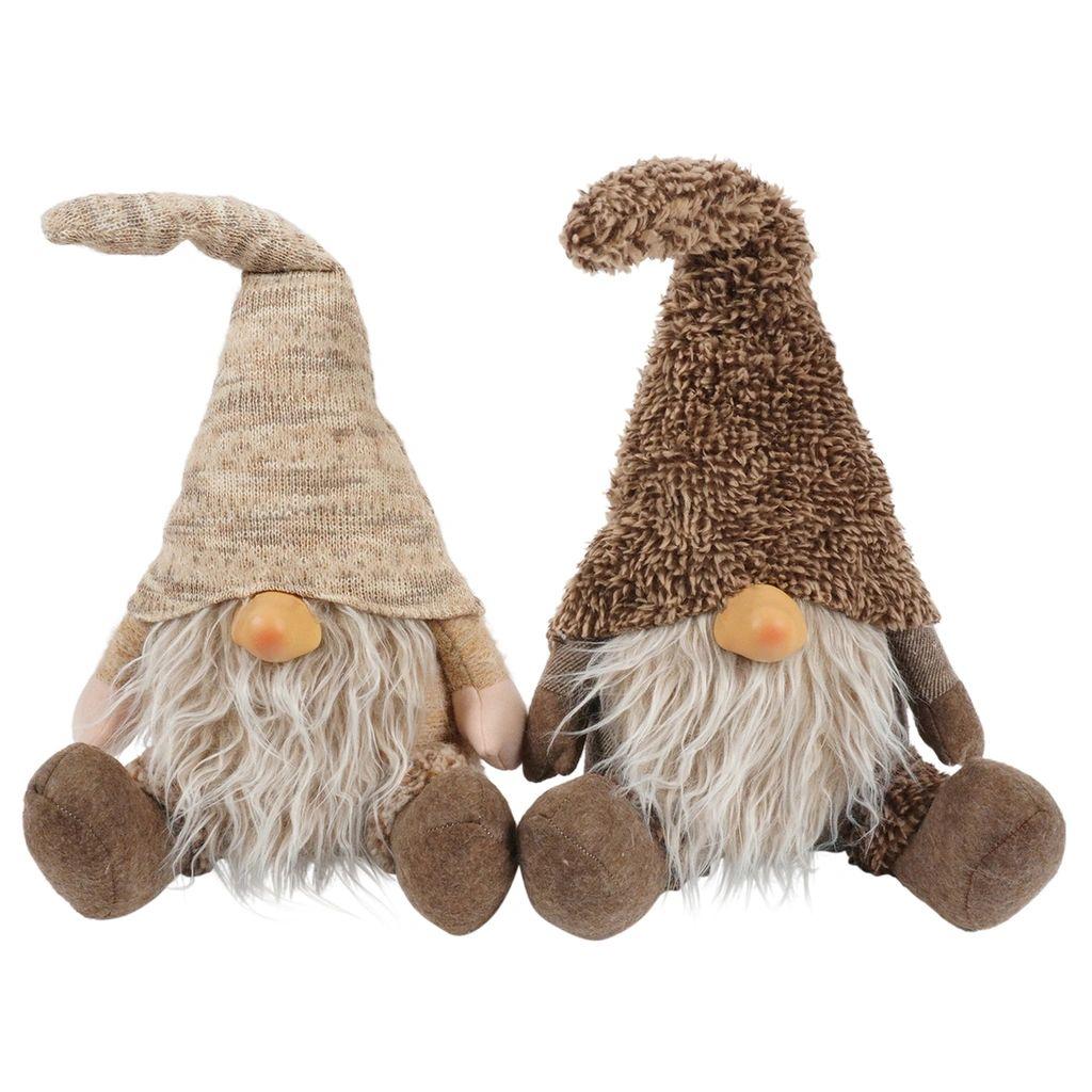 Gnome Bas (set van 2) | 24 cm