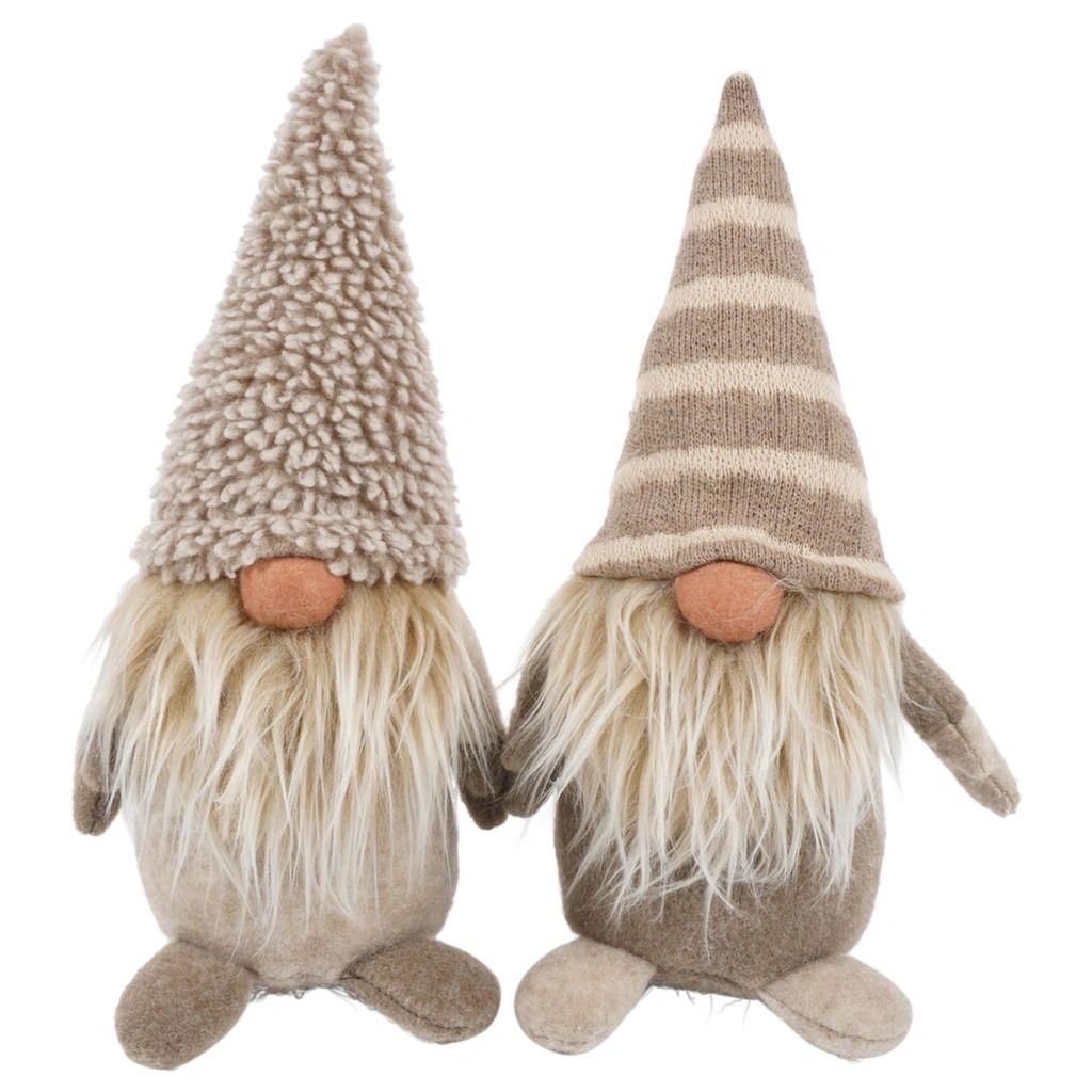 Gnome Marcel (set van 2) | 17 cm